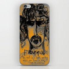 Zappa iPhone & iPod Skin