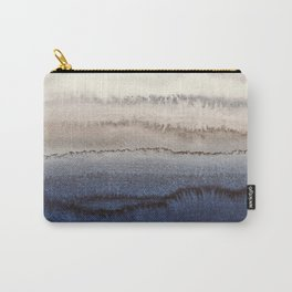 WITHIN THE TIDES WINTER BLUES by Monika Strigel Carry-All Pouch