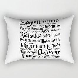 HarryPotter Magic Spells Rectangular Pillow