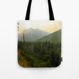 Smokey Sunset Tote Bag