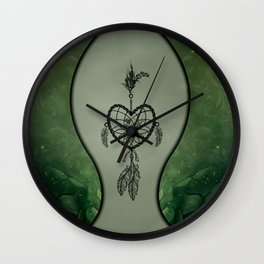 Wonderfuø dreamcatcher Wall Clock