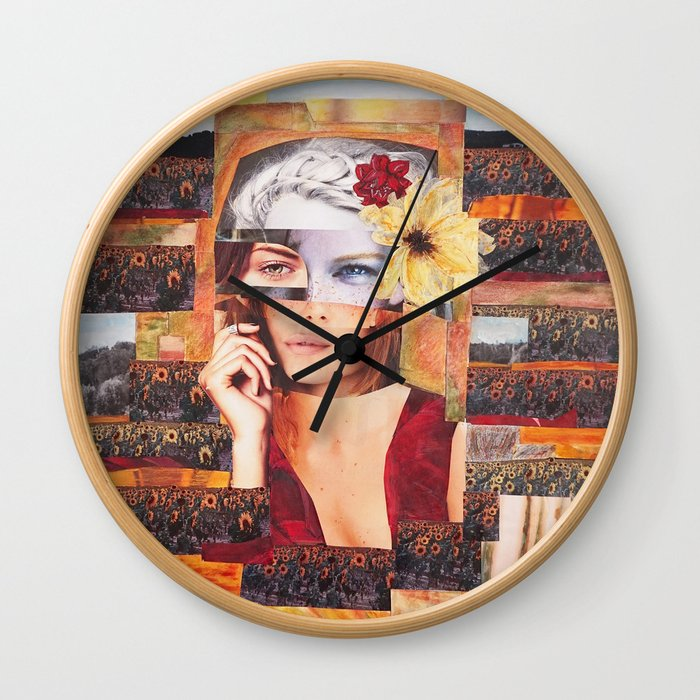 Freckle time Wall Clock
