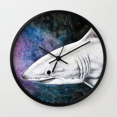 Great White Shark II Wall Clock
