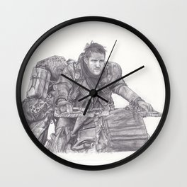 Mad Max - Tom Hardy Wall Clock