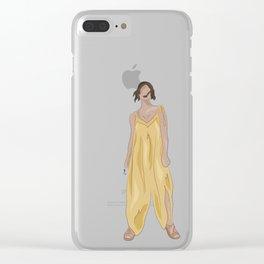 KINSHIP+SILK Clear iPhone Case