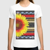 blanket T-shirts featuring Indian Blanket by Jim Pavelle