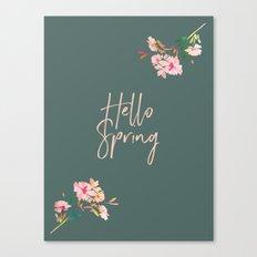 Hello Spring II Canvas Print