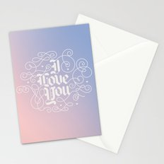 3 Little Words Stationery Cards