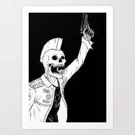 Shoot To Thrill Art Print