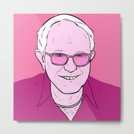 Dirty Bernie Metal Print