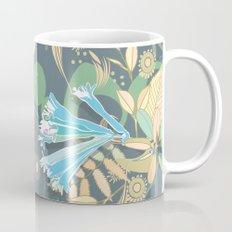Hummingbird leaf tangle Mug