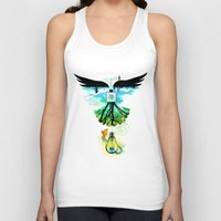dream catcher Tank Tops featuring Dream Catcher by Enkel Dika