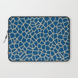 staklo (dark blue with coffee) Laptop Sleeve