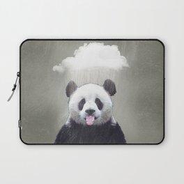 Panda Rain Laptop Sleeve