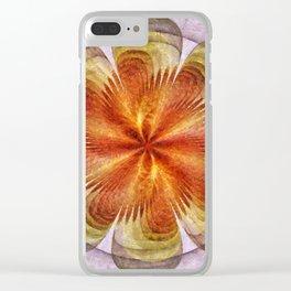 Senores Au Naturel Flower  ID:16165-061704-49220 Clear iPhone Case