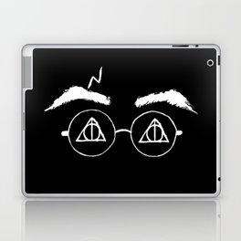 Horcrux White Potter Laptop & iPad Skin