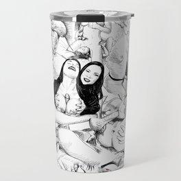 sex collage Travel Mug