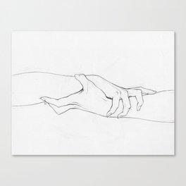 Untitled Hands No. 3 Canvas Print