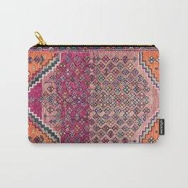 Traditional Moroccan Berber Artwork Design E17 Carry-All Pouch