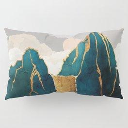 Golden Waterfall Pillow Sham