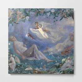 A Midsummer Night's Dream - John Simmons Metal Print