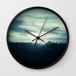 Sunset Mist Wall Clock
