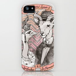 The Unexpected Liaison iPhone Case