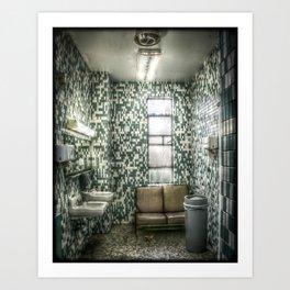 Tiled Art Print