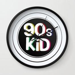 90s Kid Wall Clock