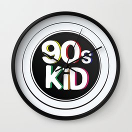 90s Kid Wall Clock