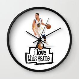 Steph Curry Wall Clock