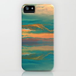 Landscape reflection iPhone Case
