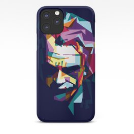 joker in colorful popart style iPhone Case