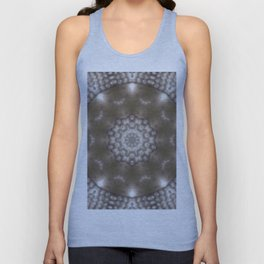 Silver and gold CB Unisex Tank Top