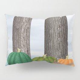 fox squirrels, heirloom pumpkins, & acorns Pillow Sham