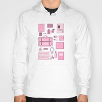 the grand budapest hotel Hoodies featuring Grand Budapest Items by M. Gulin