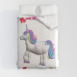 Fat Unicorn - Magical Cankles Comforters
