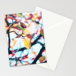 Happy Autumn Colors Stationery Cards
