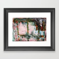 Water Damaged Photo No.5 Framed Art Print