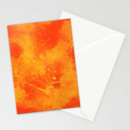 Phone abstract painting Stationery Cards