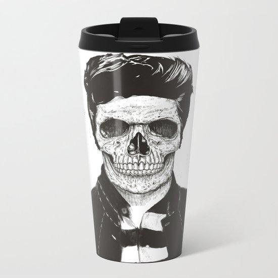 Death fashion Metal Travel Mug