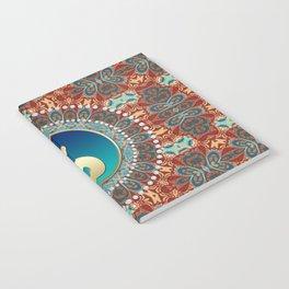 Bohemian Batik Yin Yang Notebook