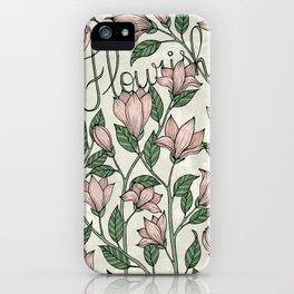 Flourish! iPhone Case