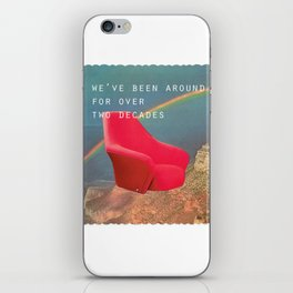 We've been around for over two decades (Red chair and the Grand Canyon) iPhone Skin