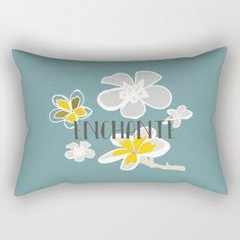 Plumeria Flower Rectangular Pillow
