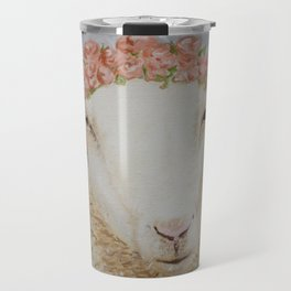 Crowned Lamb Travel Mug