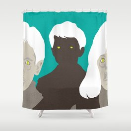 John Carpenter, Modern Master Series :: Village of the Damned Shower Curtain