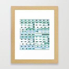 Window Scene Framed Art Print