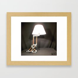 Articulated Desk Lamps - Copper and Chrome Collection - FredPereiraStudios_Page_04 Framed Art Print