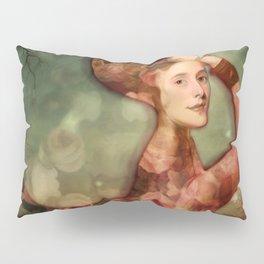 Mermaid among flowers Pillow Sham